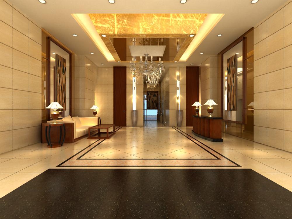 reception space 032 3d model max 145209
