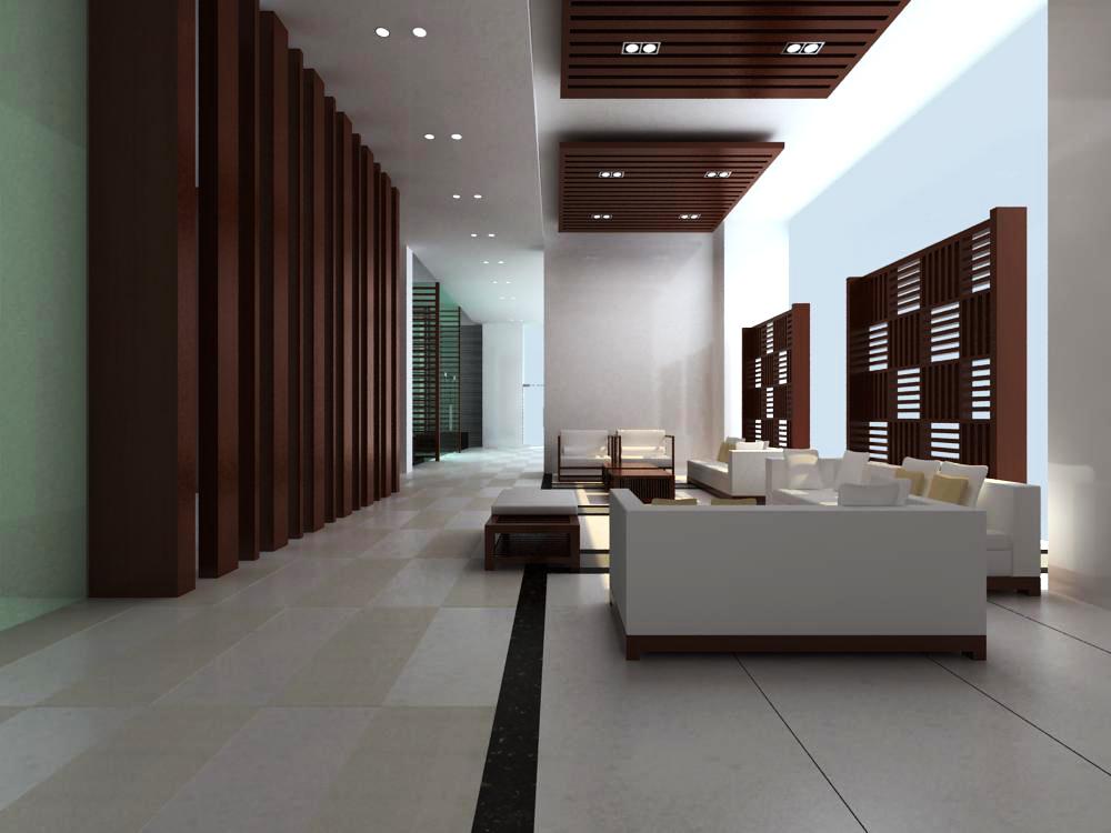 reception space 033 3d model max 145211