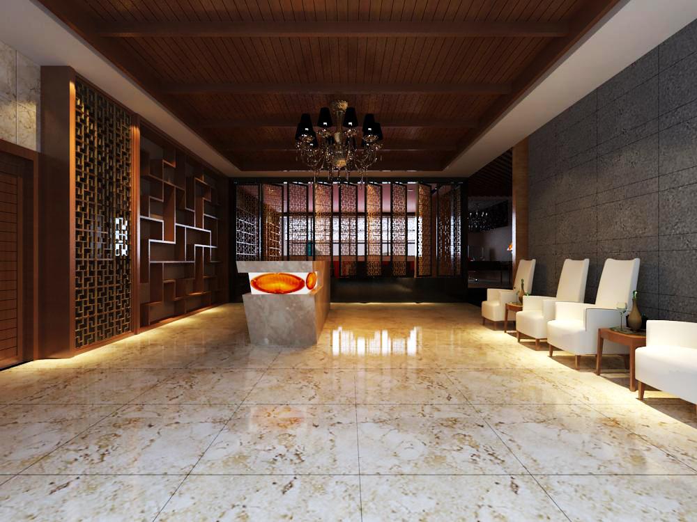 reception space 038 3d model max 145217