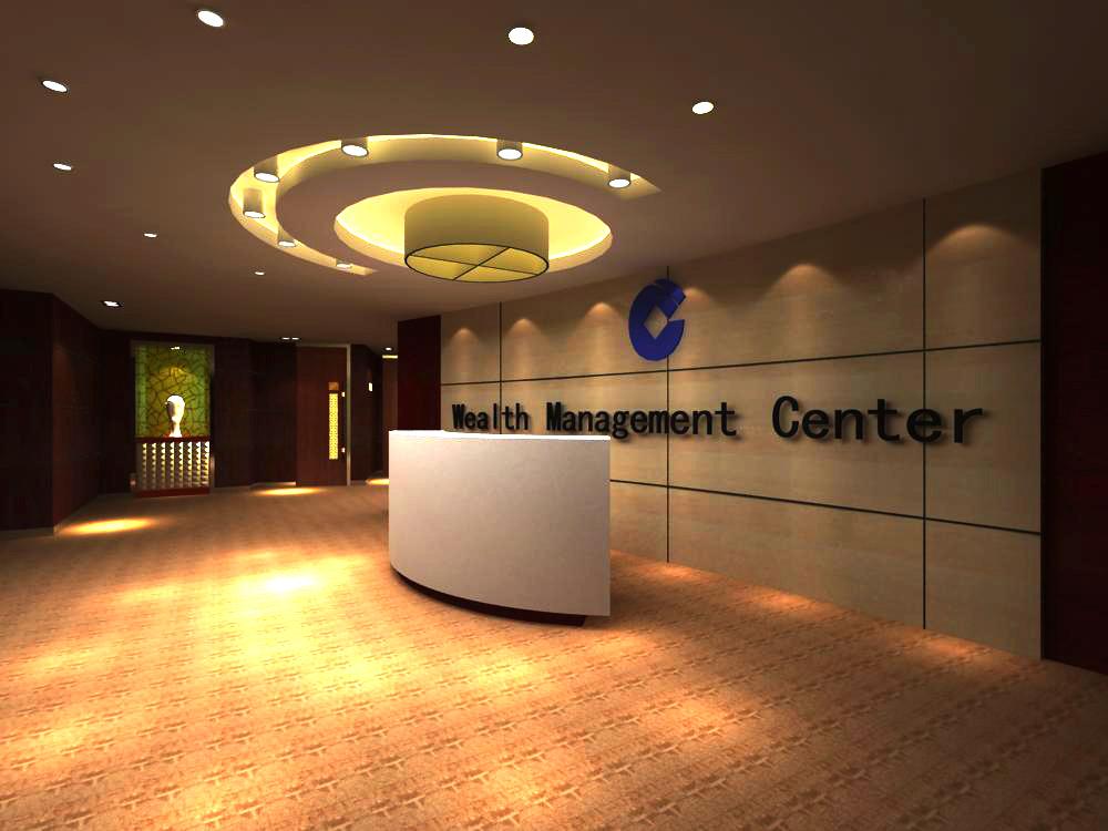 reception space 042 3d model max 145225
