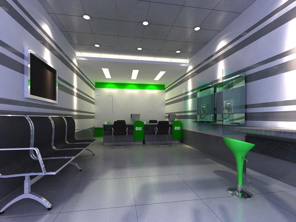 reception space 044 3d model max 145227
