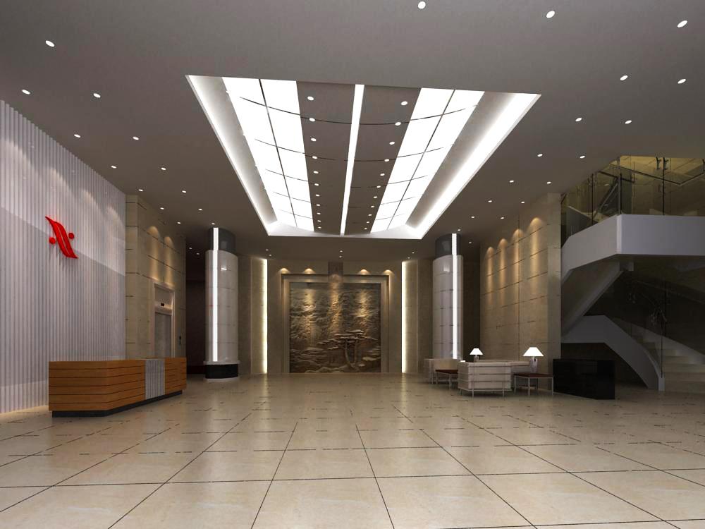 reception space 045 3d model max 145229