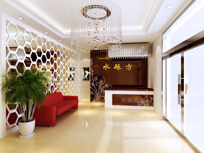 reception space 046 3d model max 145233
