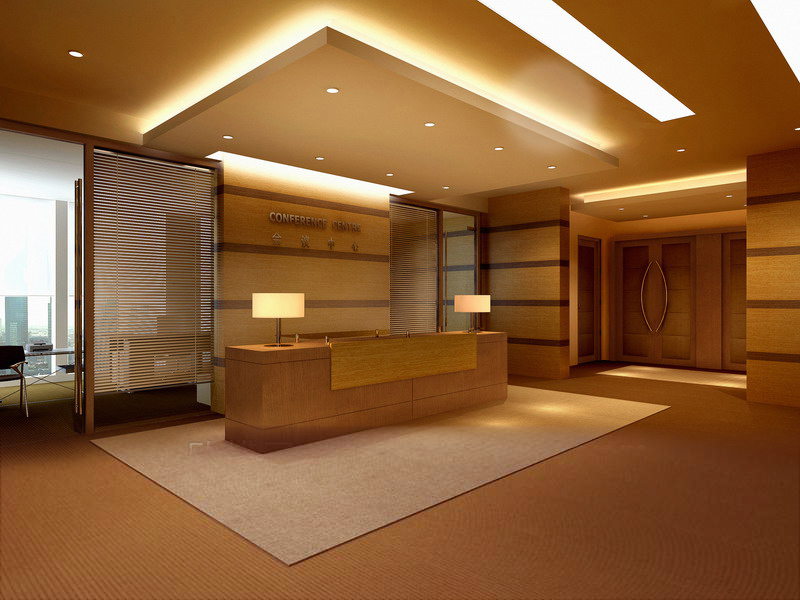 reception space 047 3d model max 145235
