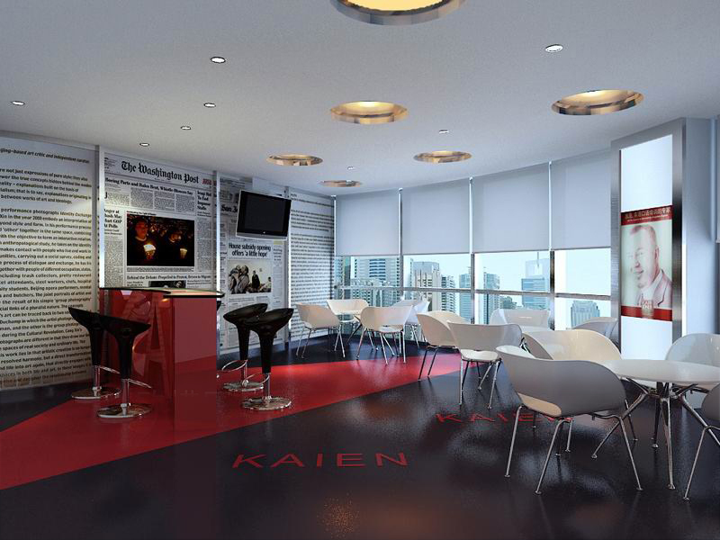 reception space 048 3d model max 145237