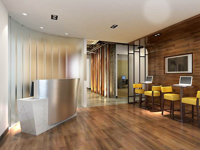 reception space 051 3d model max 145243