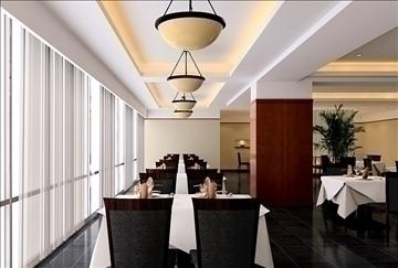 restoran 0021 3d model 3ds max 83055