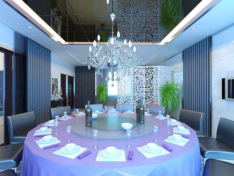 restaurant 0022 3d model max 137545