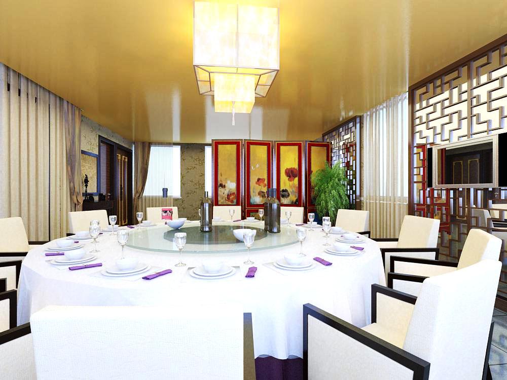 restaurant 003 3d model max 137547