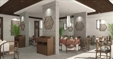 restaurant 005 3d model 3ds max 83057