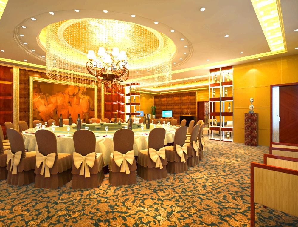 restaurant 0052 two 3d model max 137555