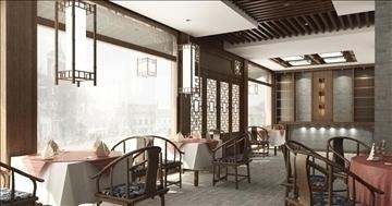 restaurant 0064 3d model 3ds max 83059