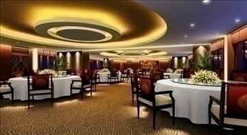 restaurant 007 3d model 3ds max 83061