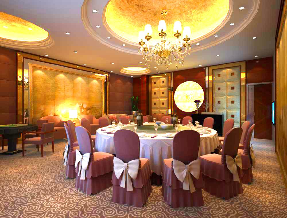 restaurant 0072 3d model 137553
