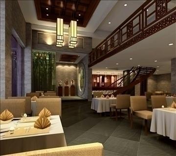 ресторан 010 3d загвар 3ds max 83067