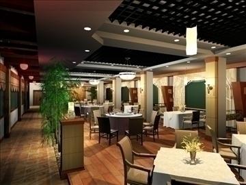 restaurant 011 3d model 3ds max 83070