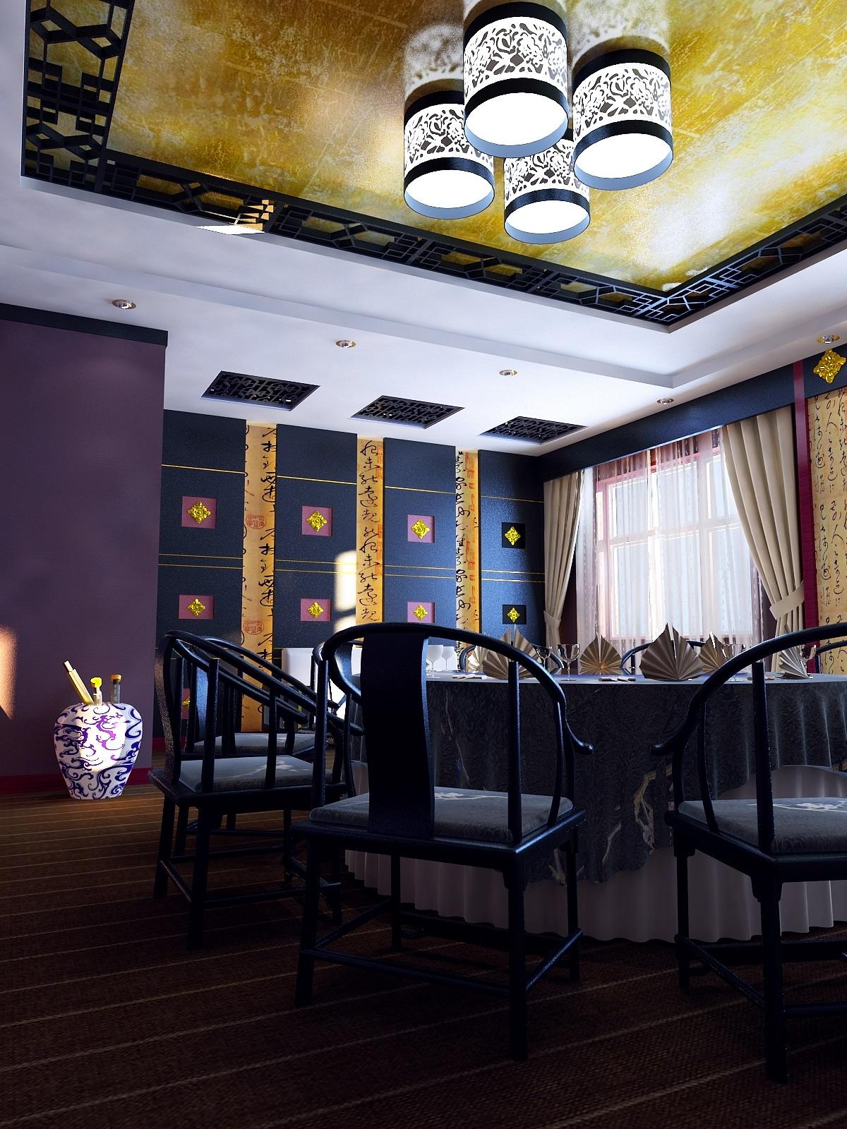 restoran 0113 3d model max 145295