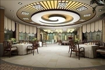 restaurant 012 3d model 3ds max 83073