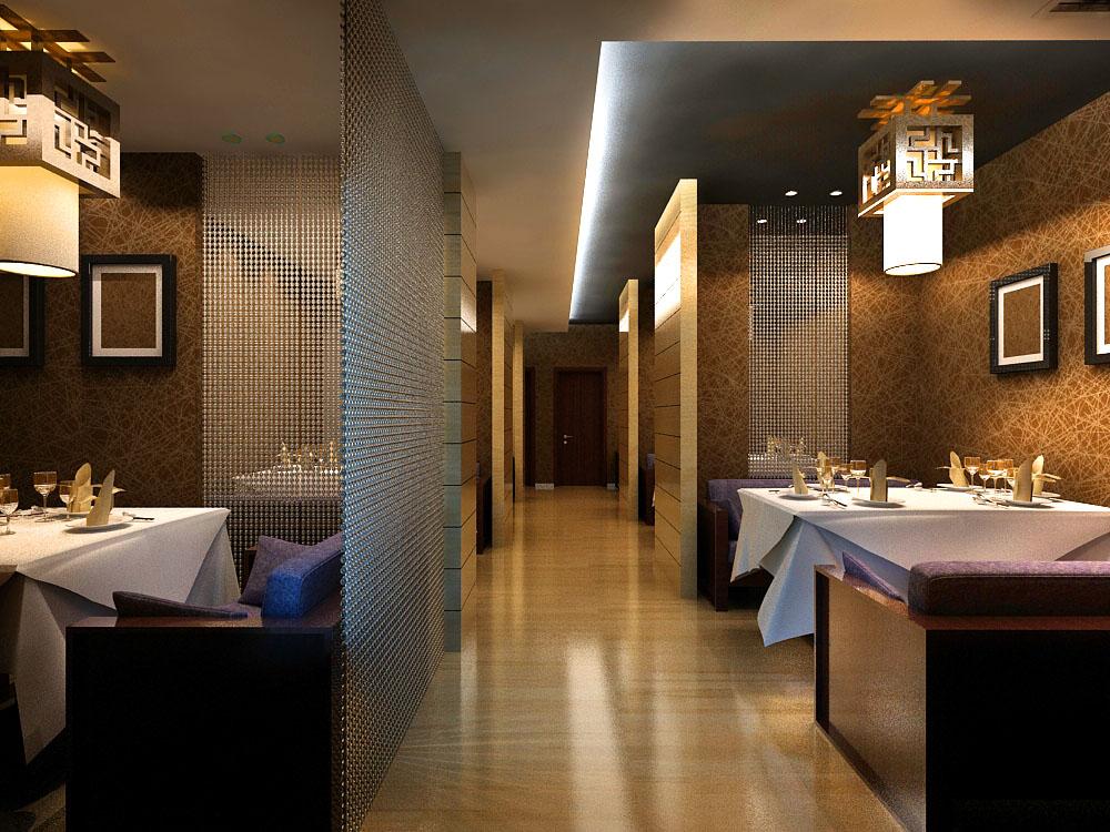 restoran 0121 3d model max 137567