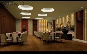 ресторан 0161 3d загвар 3ds max 83081