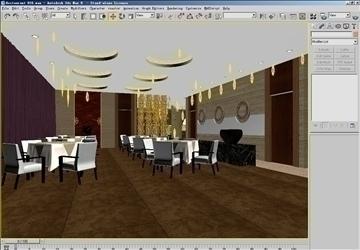restoran 0161 3d model 3ds max 83082