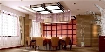 restaurant 017 3d model 3ds max 83083