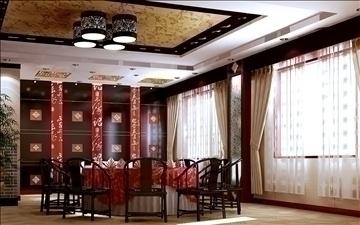 restaurant 018 3d model 3ds max 83085