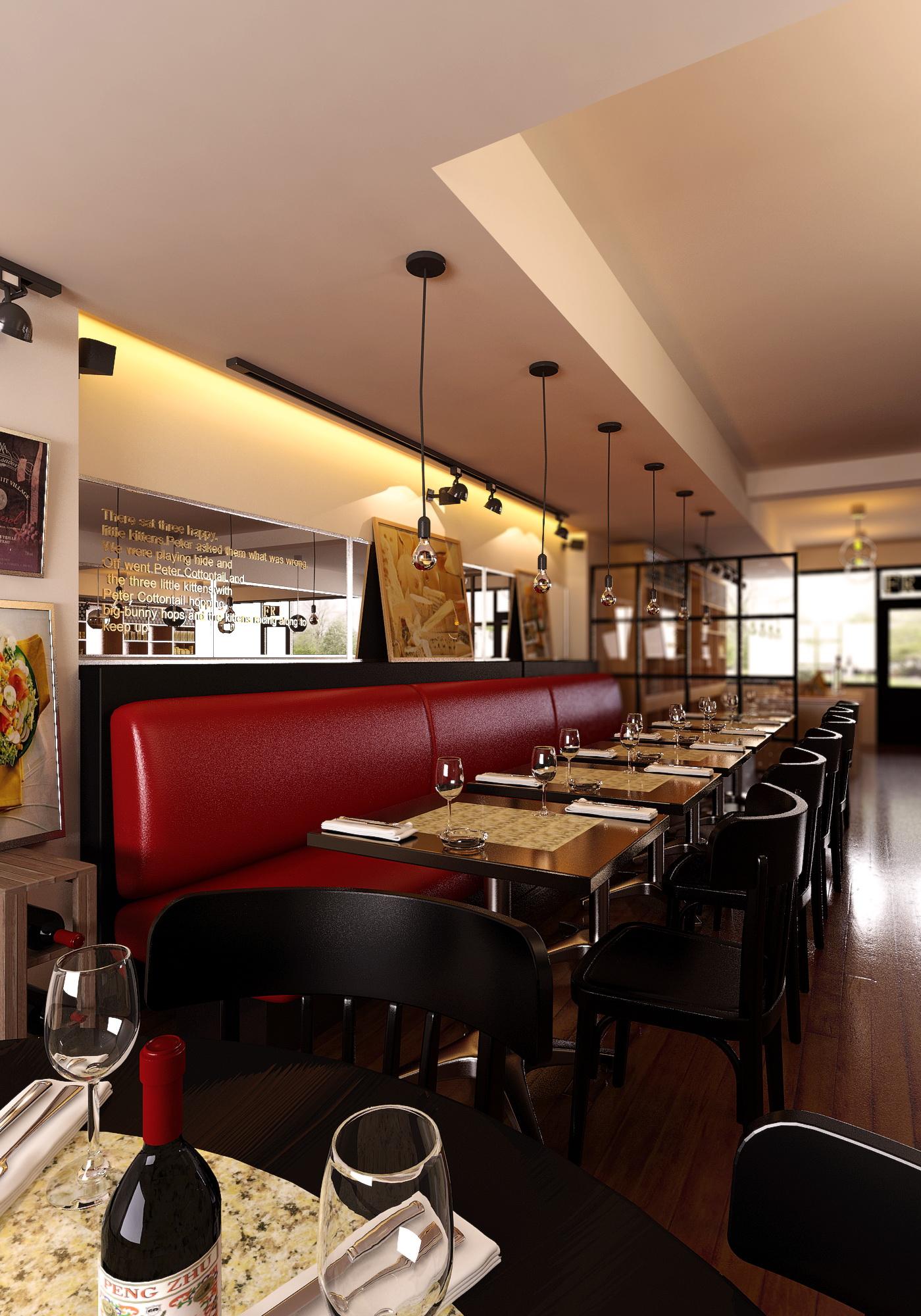 restoran 01922 dva 3d modela max 137585