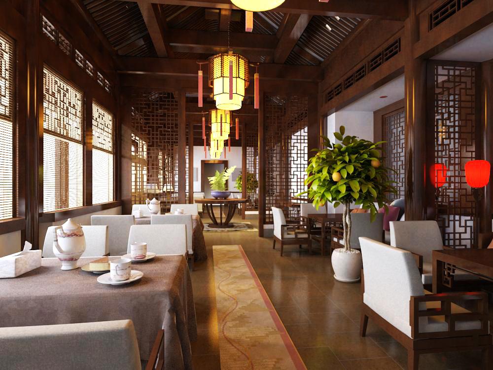 restaurant 035 3d model max 145361