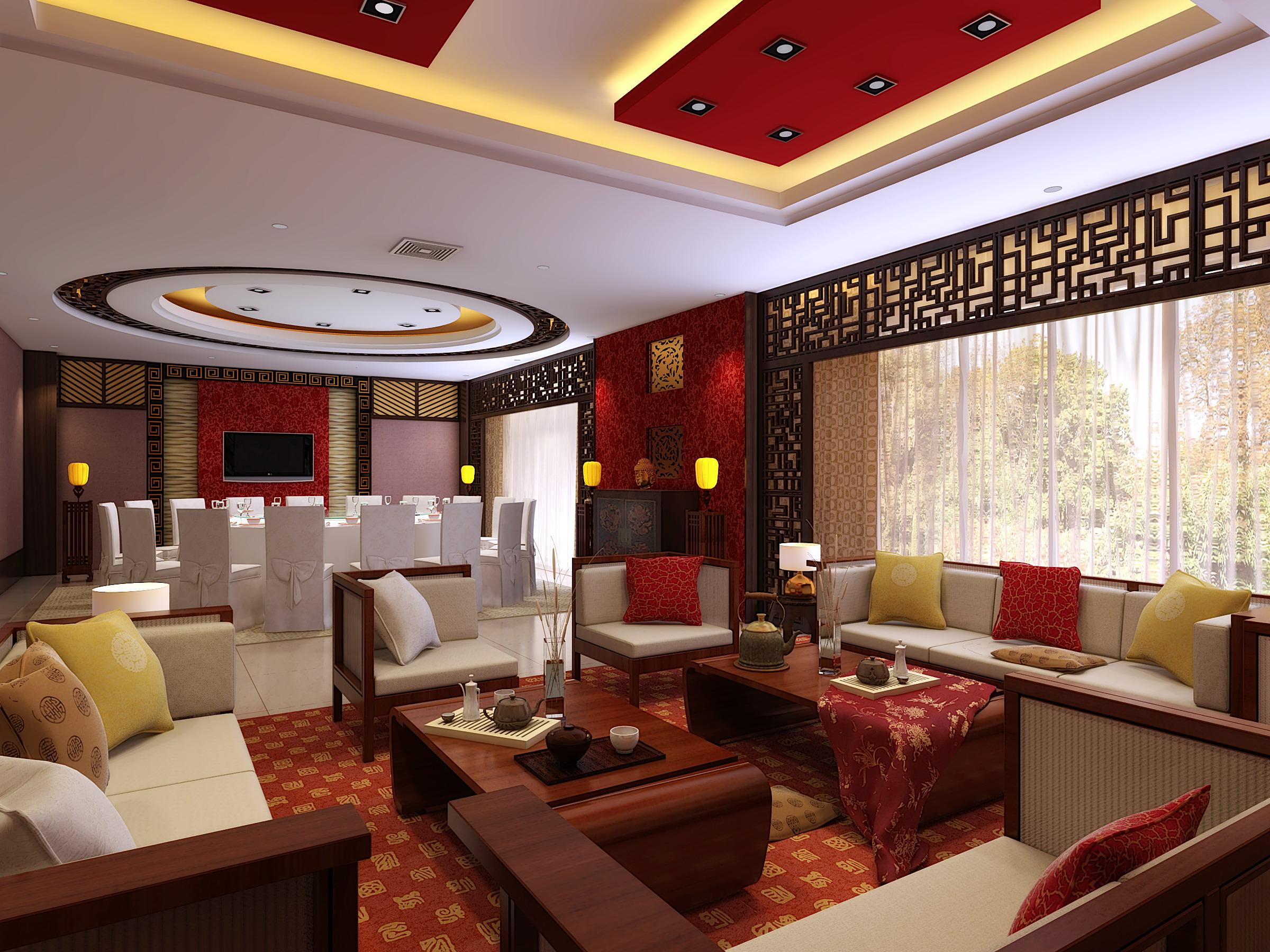 restaurant 037 3d model max 145365