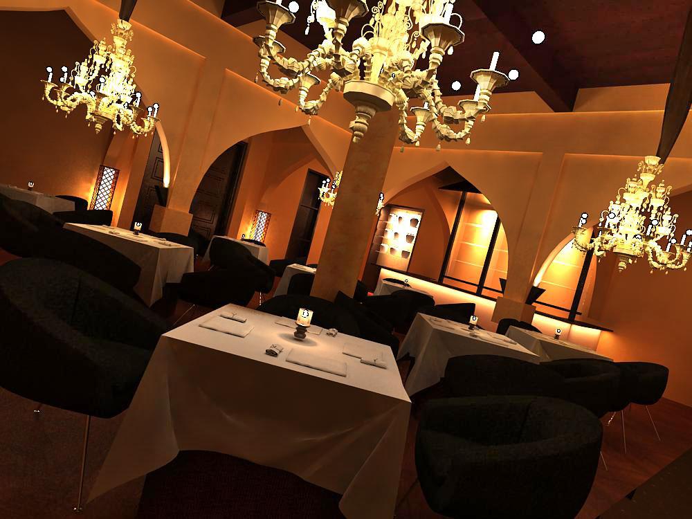 restoran 038 3d model max 145368
