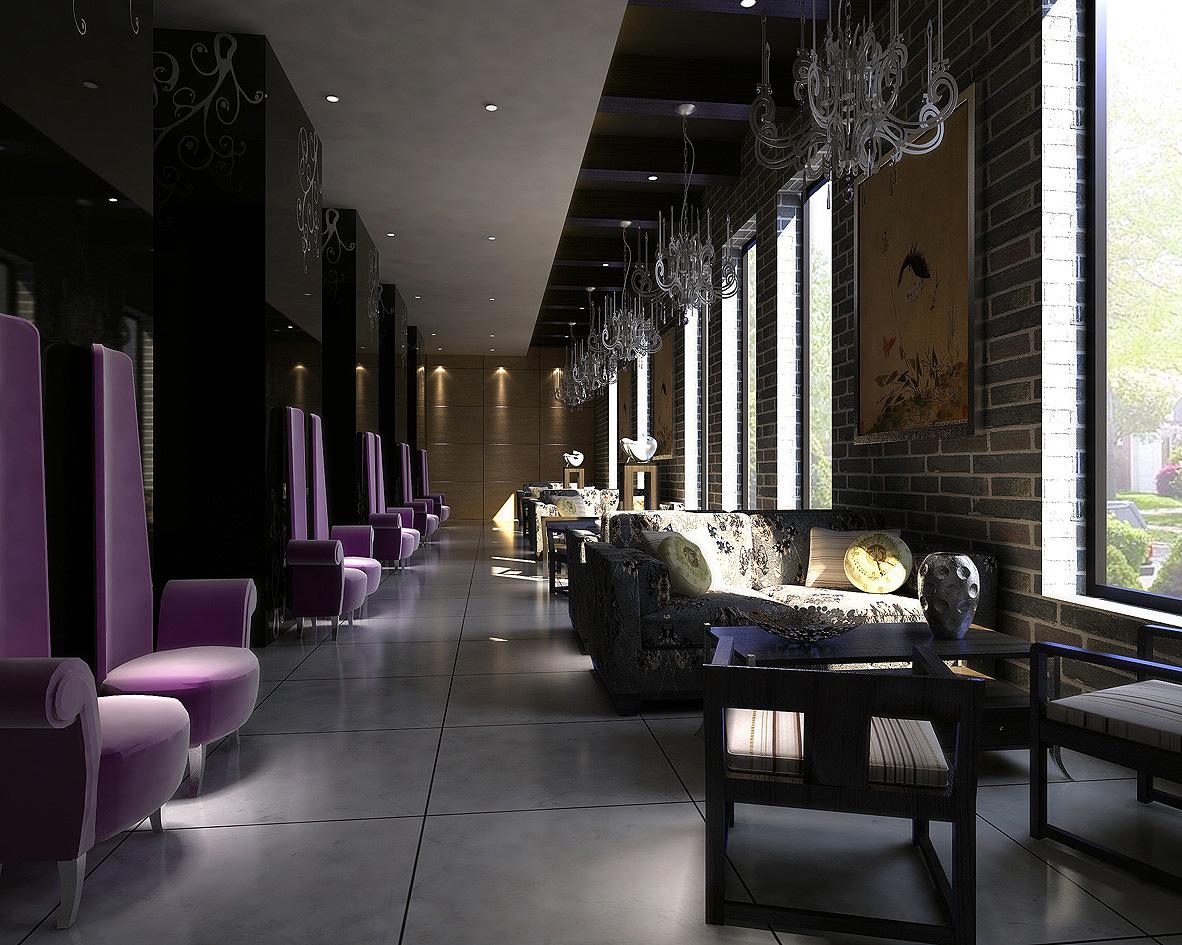 restaurant 039 3d model max 145370