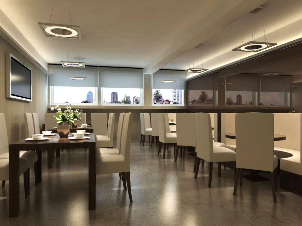 restaurant 042 two 3d model max 137658