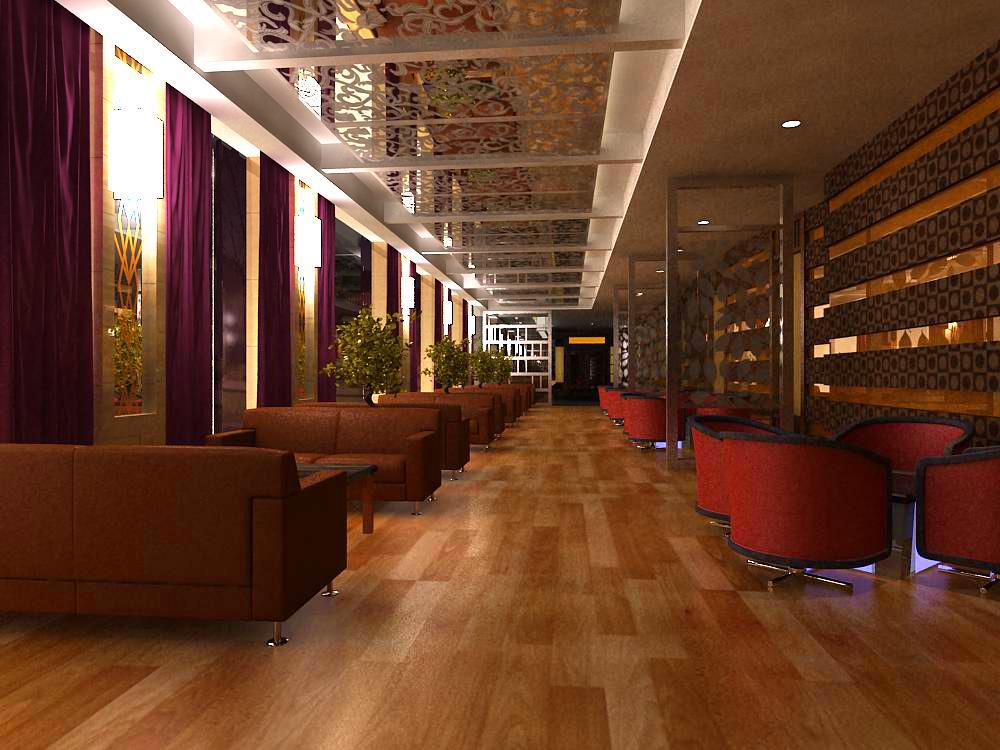 restaurant 043 3d model max 145378