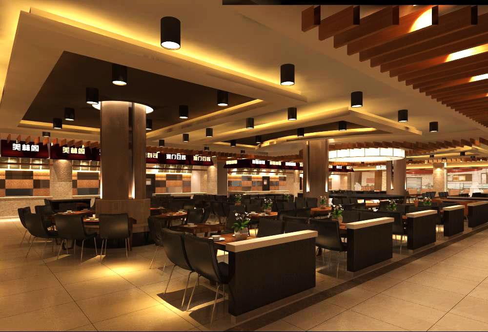 restaurant 043 two 3d model max 137660