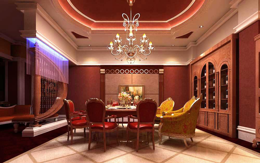 restaurant 049 two 3d model max 145391