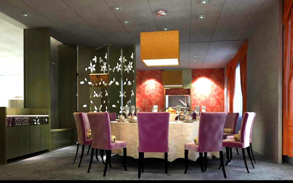 restaurant 052 two 3d model max 145397
