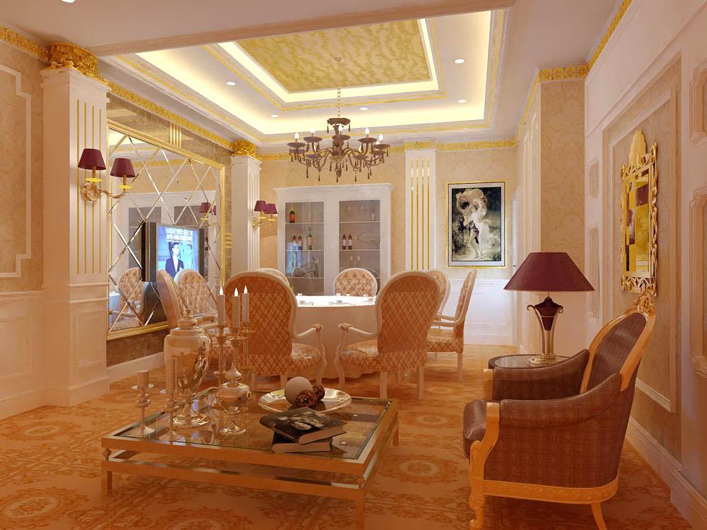 restaurant 059 3d model max 145409