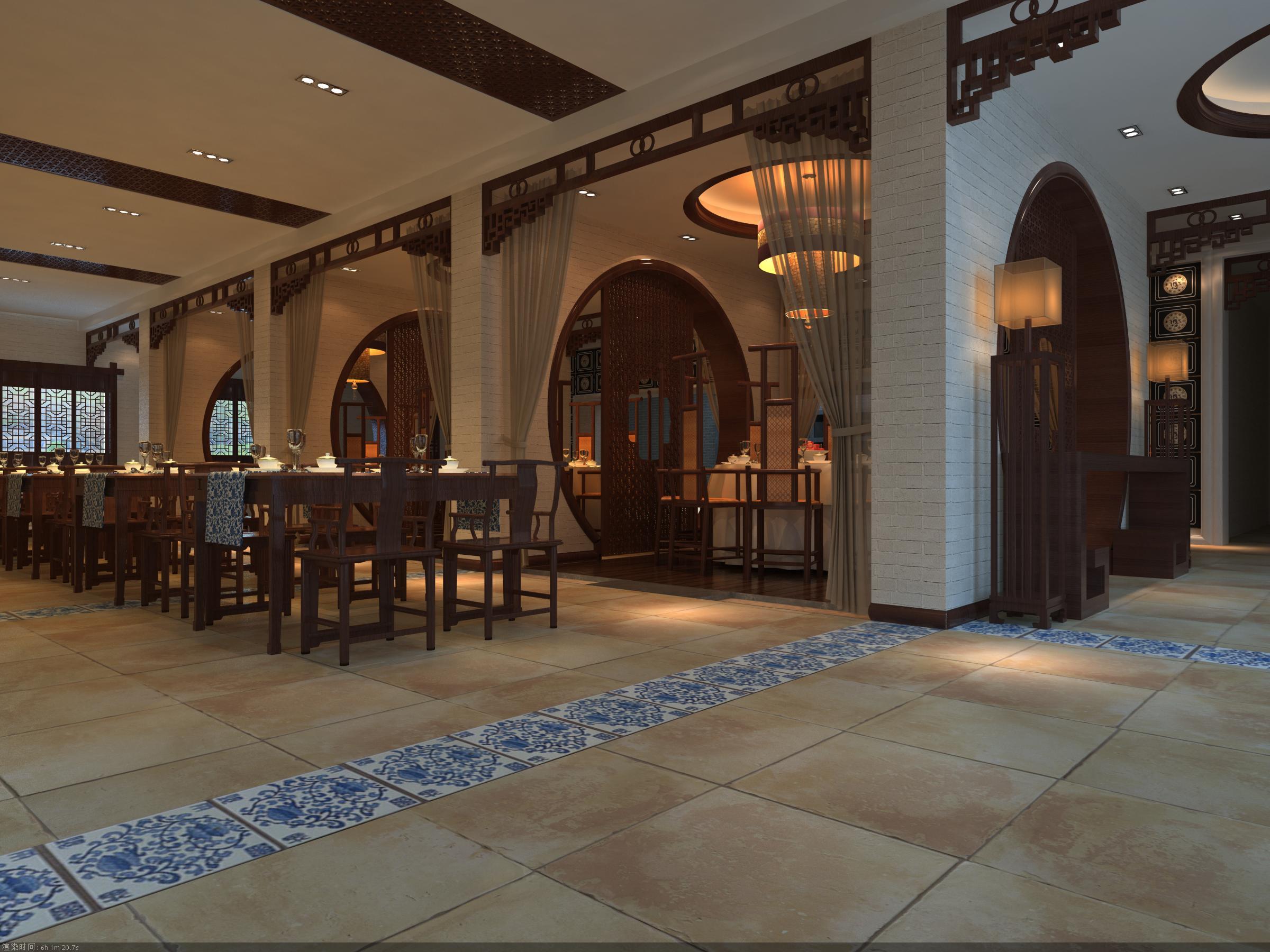 restaurant 060 3d model max 145411