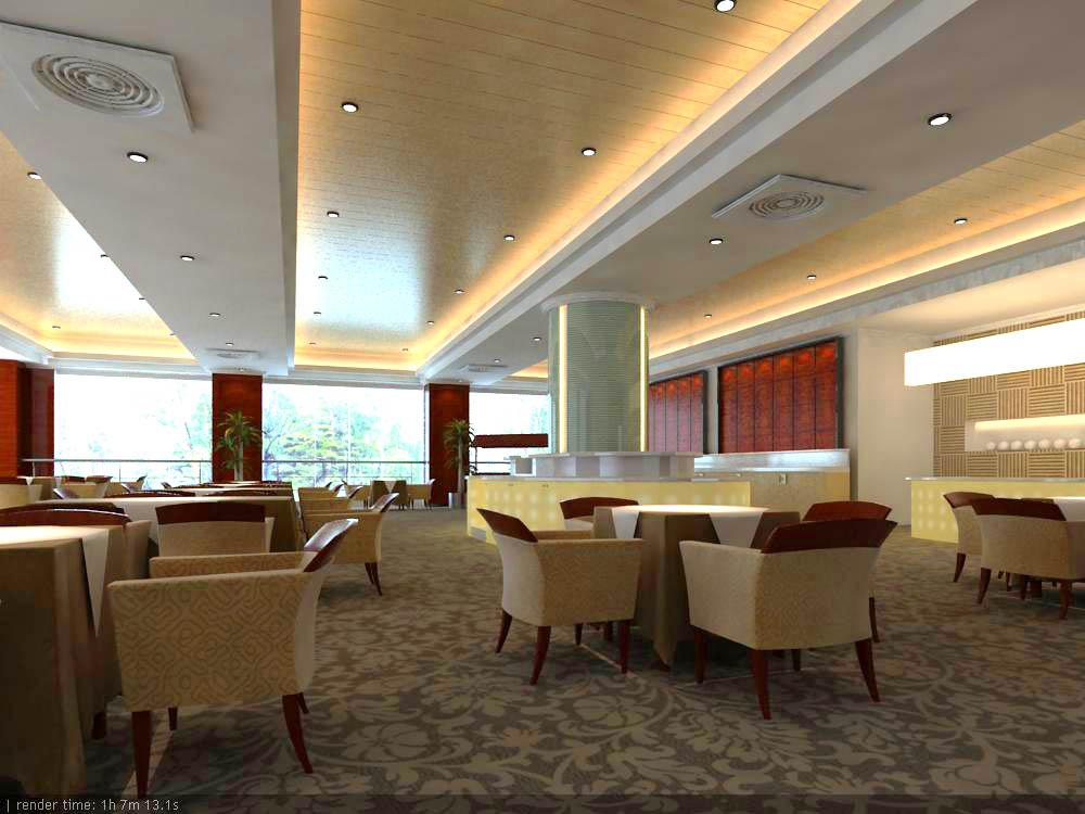 restaurant 062 3d model max 145417