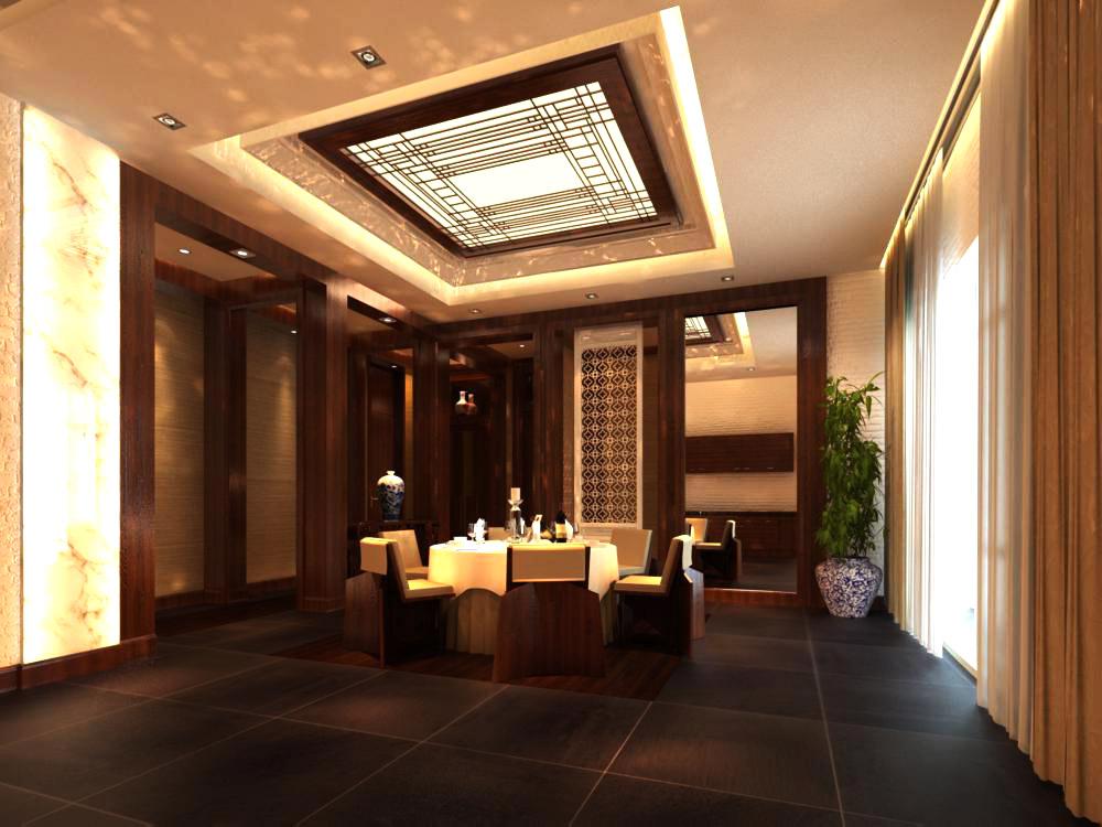 restaurant 065 two 3d model max 137717