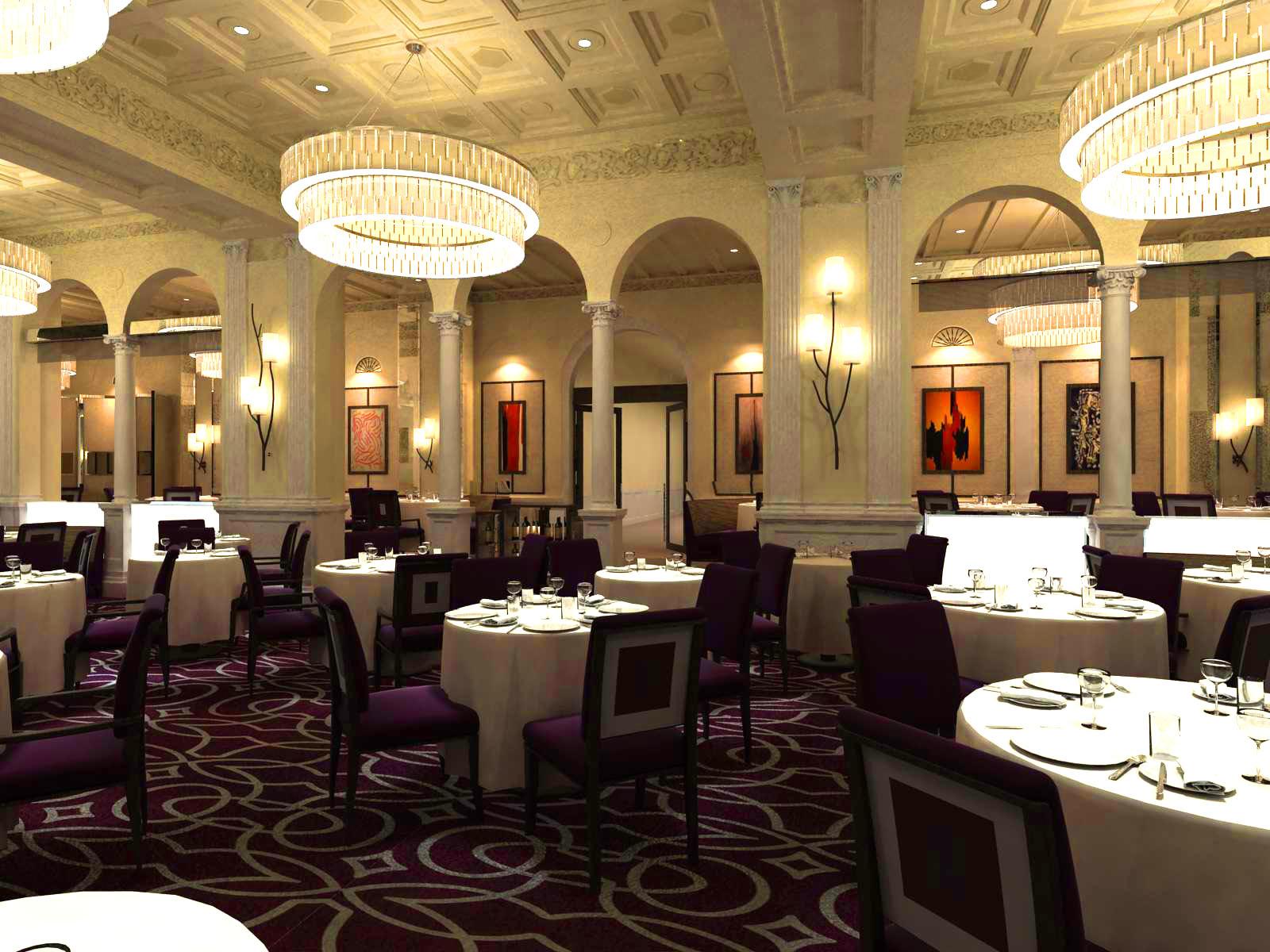 restaurant 066 3d model max 122163