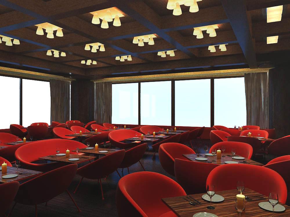 restaurant 066 3d model max 145421