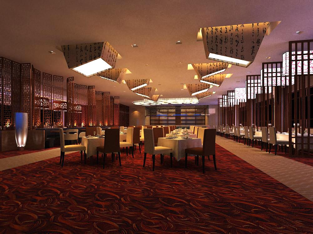 restaurant 067 3d model max 145423