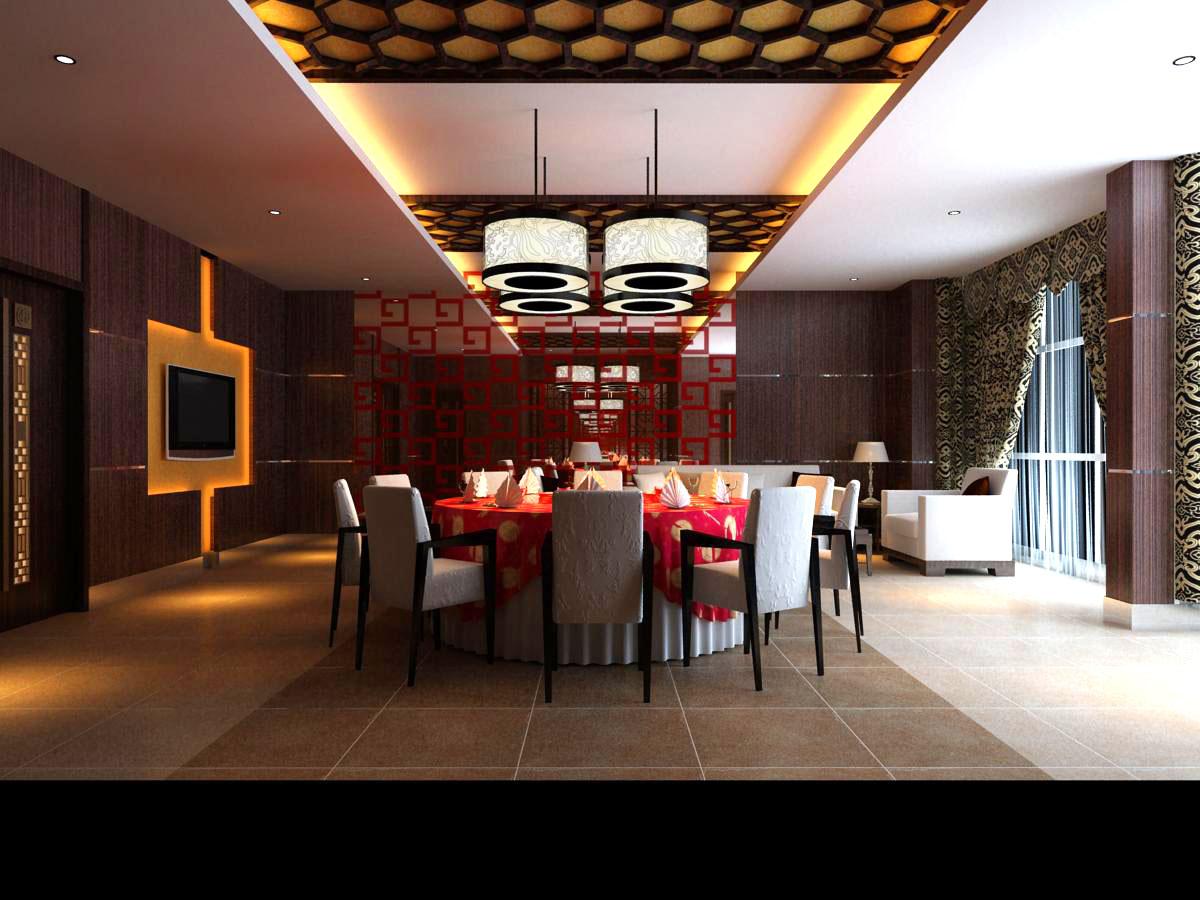 restaurant 068 3d model max 122167