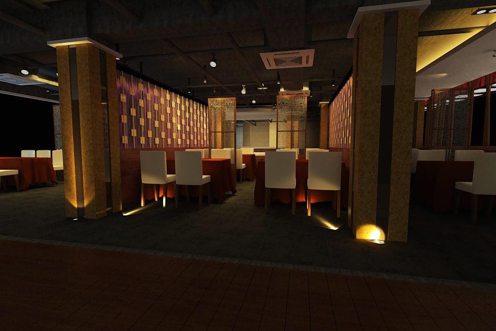 restaurant 068 3d model max 145425
