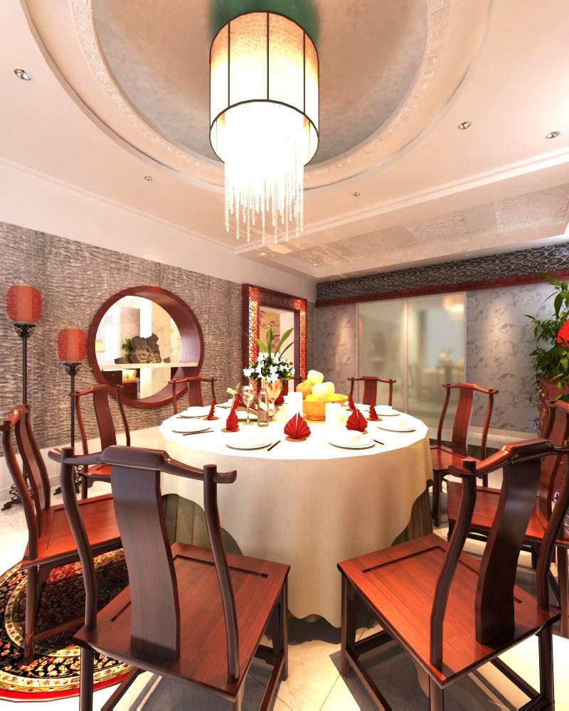 restaurant 068 two 3d model max 137723
