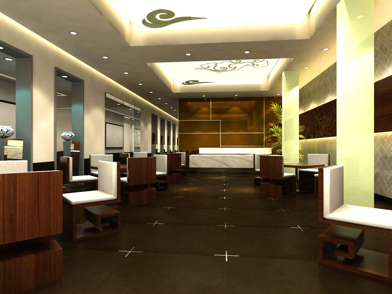 restaurant 069 3d model max 122169