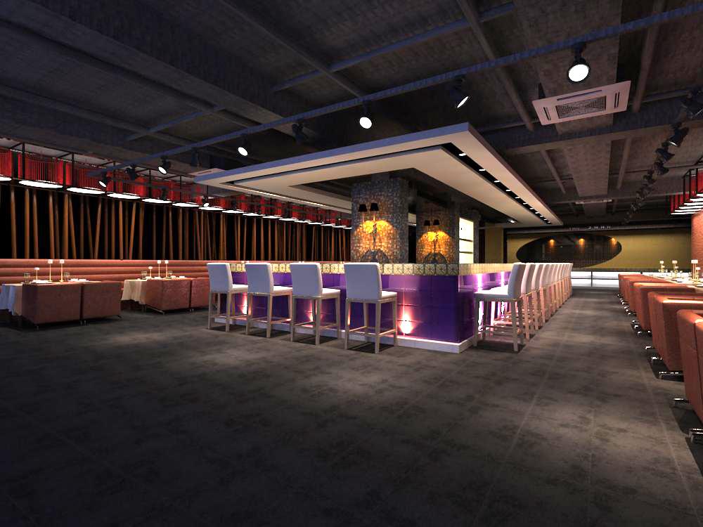 restaurant 069 3d model max 145427
