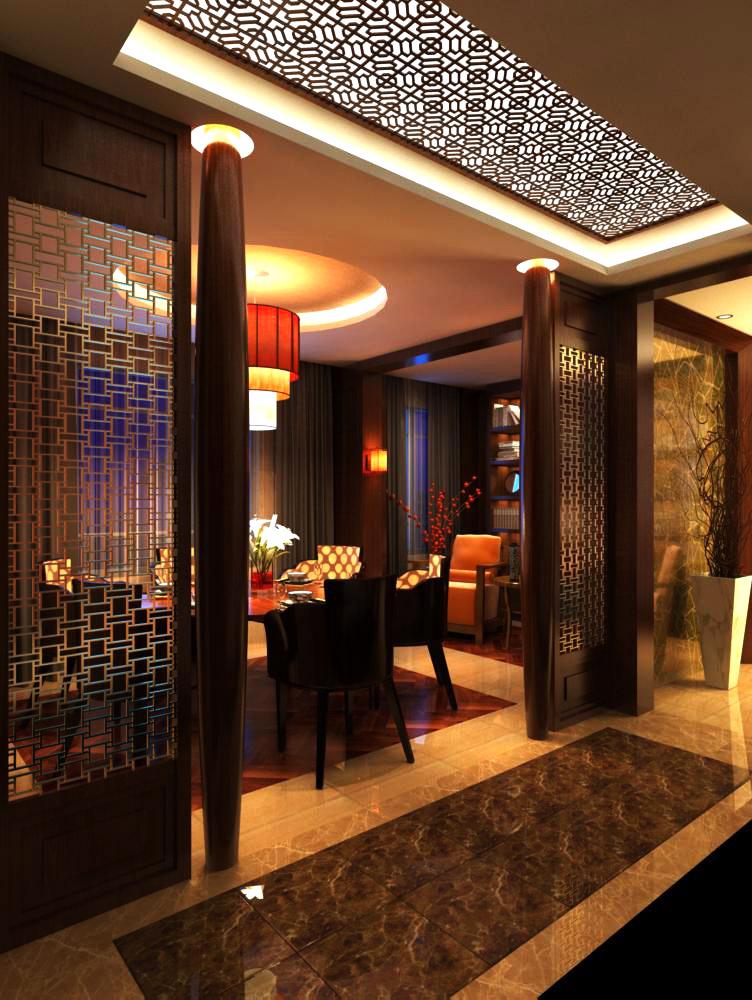 restaurant 069 two 3d model max 137725